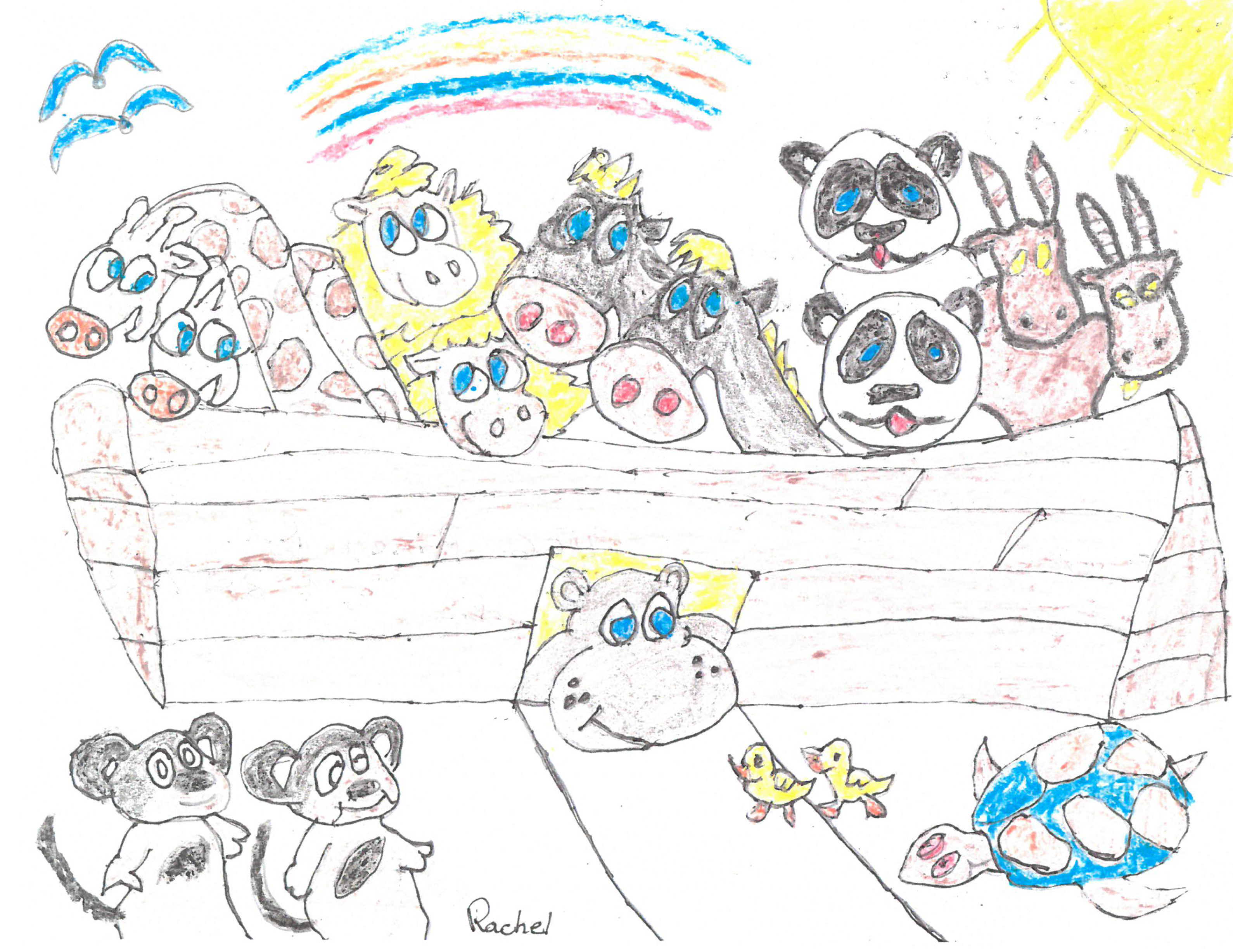 noah u0027s ark coloring contest blog shining the light in the